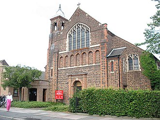 Bellingham, London - Image: St Dunstans church, Bellingham (geograph 1942605)