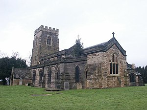Grade II* listed buildings in Nottinghamshire - Image: St Helen's Church, Selston geograph.org.uk 87265