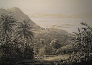 Saint John, U.S. Virgin Islands - Lithograph of Saint John, 1850