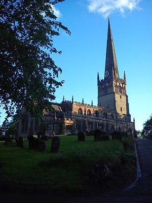 Bromsgrove - Parish church of St John the Baptist