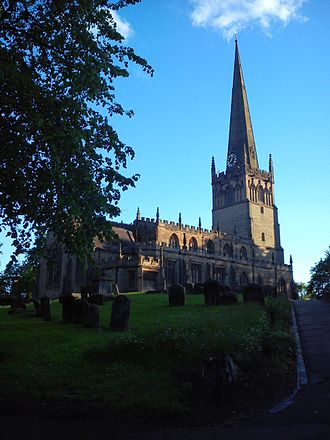 Bromsgrove - Parish church of St John the Baptist