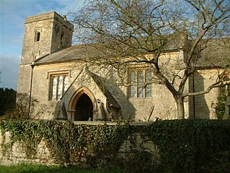 William Orchard (architect) - Image: St Leonards Church, Waterstock geograph.org.uk 94380