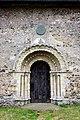 St Margaret, Hales, Norfolk - Doorway - geograph.org.uk - 1492981.jpg