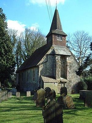 Acrise - Image: St Martins Church Acrise geograph.org.uk 955865