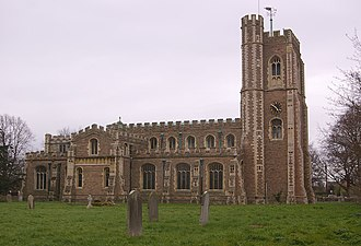 Cardington, Bedfordshire - St Mary's Church