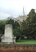 St Mary, Rickmansworth, Herts - War Memorial - geograph.org.uk - 350441.jpg
