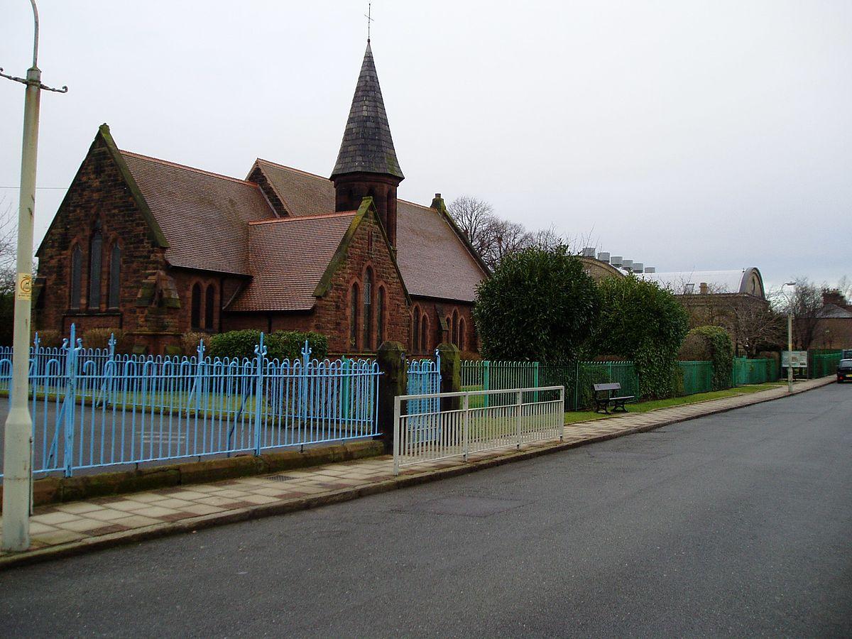 St Matthew S Church Bromborough Pool Wikipedia