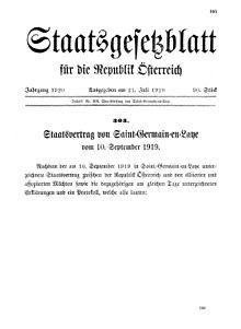 2. Weltkrieg Friedensvertrag
