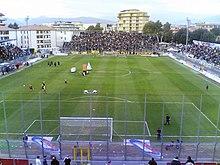 Il Matusa gremito prima di una partita del campionato di Serie B 2006-2007.