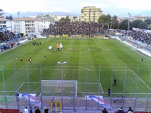 Frosinone Calcio - The Stadio Comunale Matusa