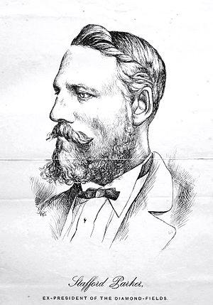 Stafford Parker - Stafford Parker - Ex President of the Diggers Republic of Klipdrift.