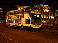 Stagecoach bus at Piccadilly Gardens in Manchester, England.jpg
