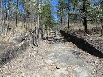 Springsure - Image: Staircase Range Cutting, near Springsure, Queensland