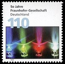 Stamp Germany 1999 MiNr2038 Fraunhofer Gesellschaft.jpg