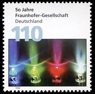 Fraunhofer Society - A German stamp: 50 years of the Fraunhofer-Gesellschaft