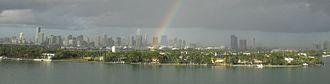 Star Island (Miami Beach) - Star Island, as seen from South Beach