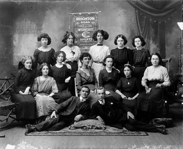File Statelibqld 1 109956 Group Of Young People From The