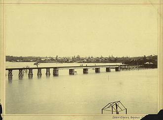 Gympie Region - Deep Creek Bridge, 1893