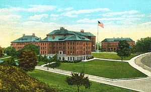 Fitchburg, Massachusetts - State Normal School in c. 1920, now Fitchburg State University