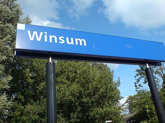 Winsum railway station