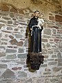 Statue Inside st anthony's church durres.jpg