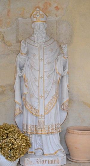 Bernard of Vienne - Statue of Saint Bernard at Ambronay