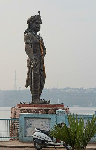 Bhoja - Statue of Raja Bhoja in Bhopal