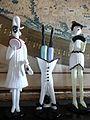 Statuine della Commedia dell'arte un vetro di Murano.JPG