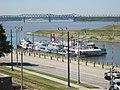 Steamboats at Memphis Landing Memphis TN 01.jpg