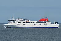 Stena Horizon approaching Rosslare harbour.jpg