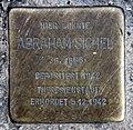 Stolperstein Bartningallee 7 (Hansa) Abraham Sichel.jpg