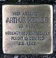 Stolperstein Friedrichstr 55 (Mitte) Arthur Kroner.jpg