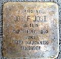 Stolperstein Karlsruhe Josef Jost Kapellenstr 72 (fcm).jpg