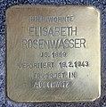 Stolperstein Thomasiusstr 10 (Moabi) Elisabeth Rosenwasser.jpg