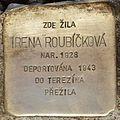 Stolperstein für Irena Roubickova.jpg