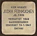 Stolperstein für Judka Feinkuchen (Cottbus).jpg