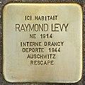 Stolperstein für Raymond Levy (Fontenay-sous-Bois).jpg