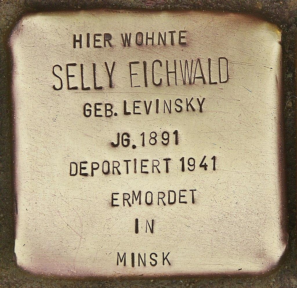 Stolperstein für Selly Eichwald (Kappeln).jpg