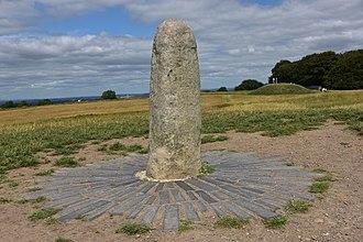 Hill of Tara - The Lia Fáil (Stone of Destiny) atop the Hill of Tara, County Meath
