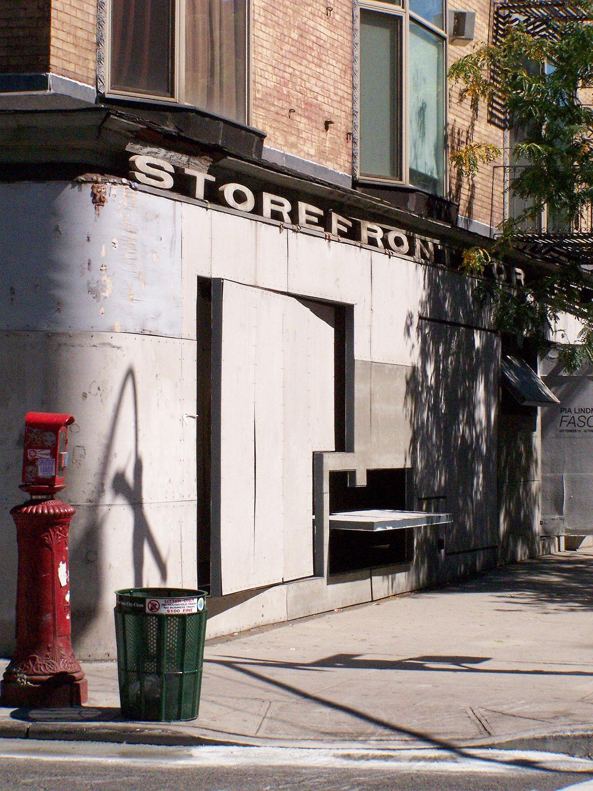 Storefront For Art And Architecture Wikipedia La Enciclopedia Libre