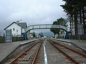 Strathcarron railway station - Image: Strathcarron railway station in 2006