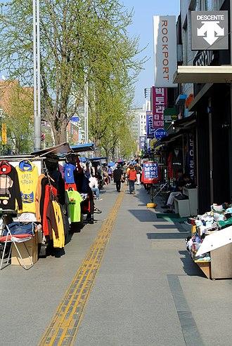 Itaewon - Image: Street Itaewon