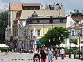 Street Scene along Pedestrian Boulevard - Ruse - Bulgaria (42347214784).jpg