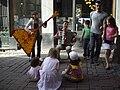 Street musicians at Grand Place..jpg