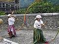 Street performers in Lanestosa's medieval market.jpg