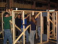 Striking the set of 2005's How to Succeed in Business Without Really Trying.jpg