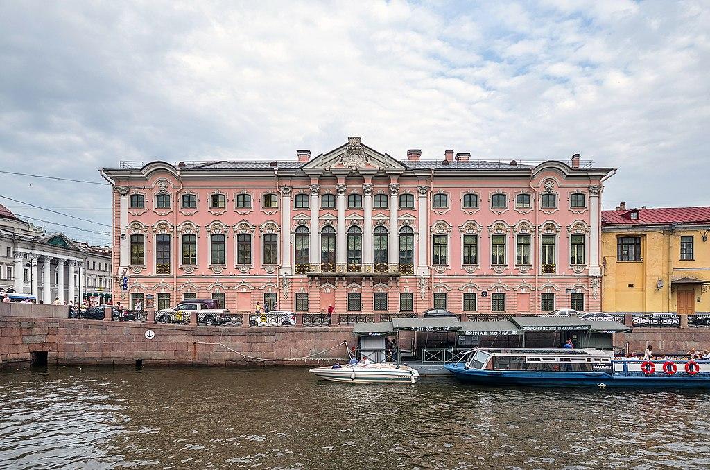 классицизма — дворец графа