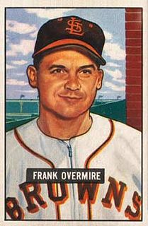 Stubby Overmire American baseball player and coach