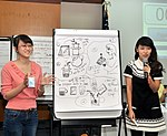 Students join the 'USAID and Higher Education in Vietnam' talk (8201266615).jpg