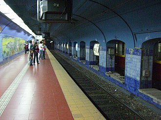 Catedral (Buenos Aires Underground) - Image: Subte Catedral